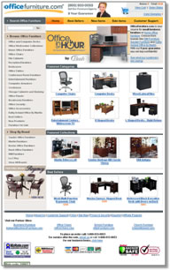 Office Furniture Landing Page