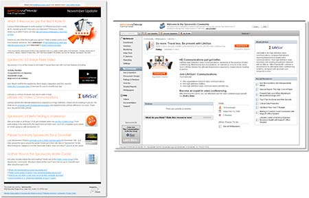 SpiceWorks: Channel to Landing Page