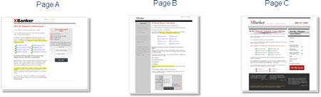 XBanker: Pages