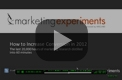 MarketingExperiments Web Clinic 2011-12-15