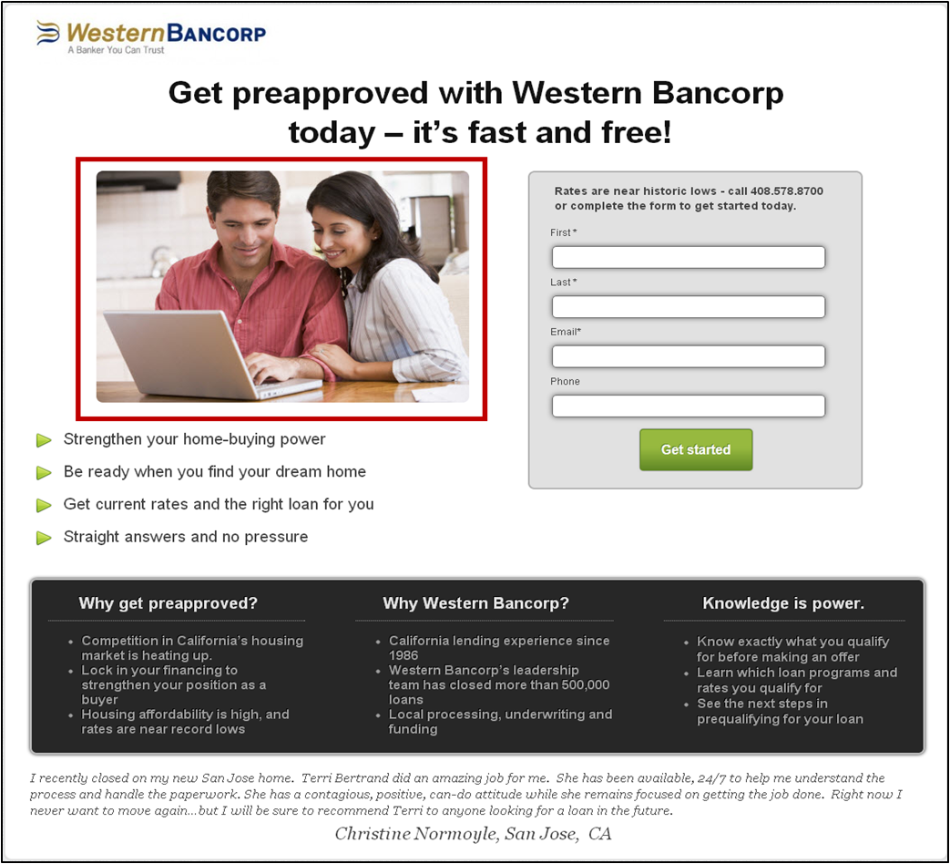Landing Page Optimization: 3 test ideas from a WordPress landing page ...