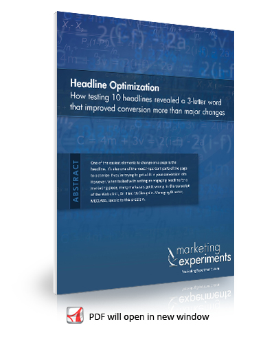 Headline Optimization Transcript