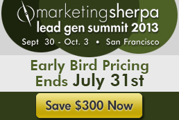 Lead Gen Early Bird Countdown Blog