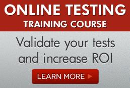 Online testing Ad Blog