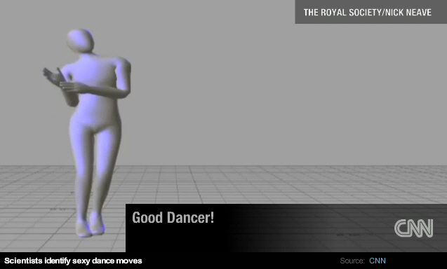 If you are a 3-D avatar, this is how you should be dancing.